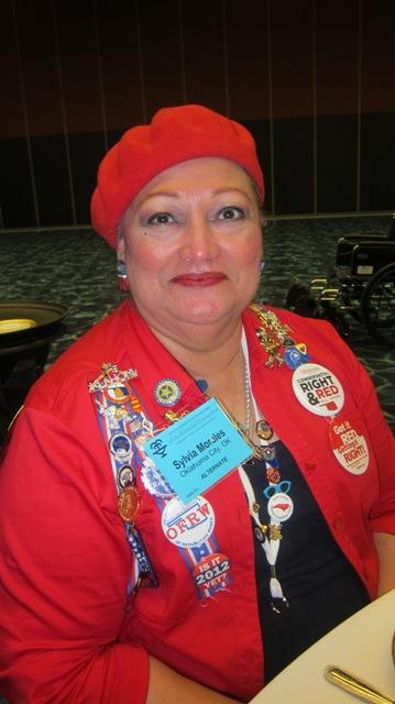 Sylvia Morales of Oklahoma City, Oklahoma