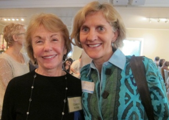 From the left:  Glady Kofalt and Cynthia West