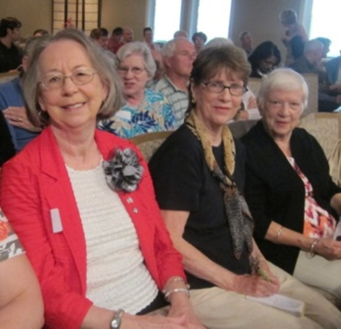 From the left:  Evelyn Poole Kober, Martha Ann and Chrissie Beh