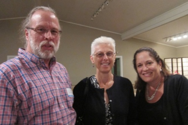 From the left:  Rhett and Karin  Macomson and Nancy Kenna