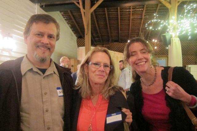 Ed Sanchez, Debbie Engels and Kimberly Sanchez