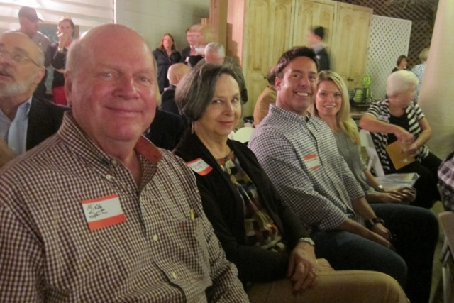 Mike and Elly Smith,  Adam Auslander and Michelle Currier