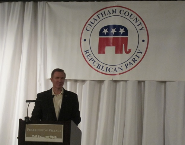 Brian Bock, Chatham County Republican Party Chairman