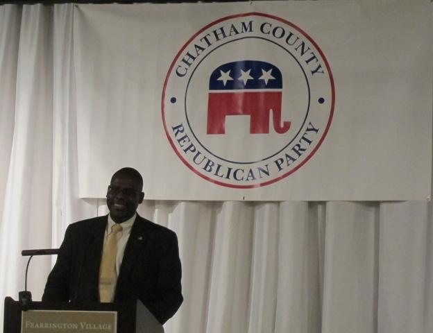 North Carolina Republican Party  Chairman, Hassan Harnett
