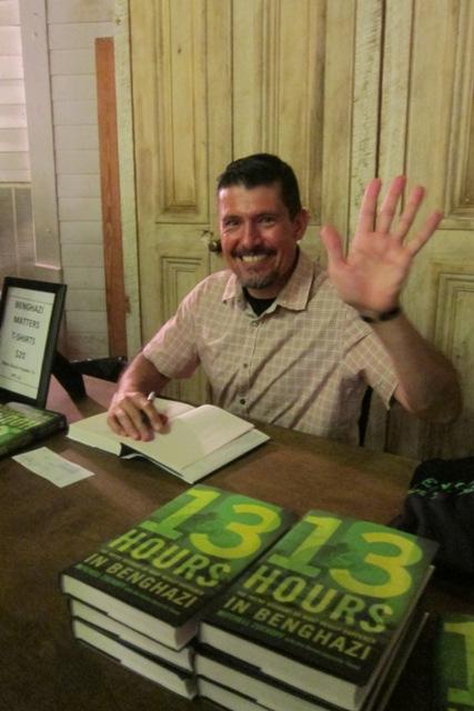 "Kris Paronto at  ""13 Hours in Benghazi"" book signing"