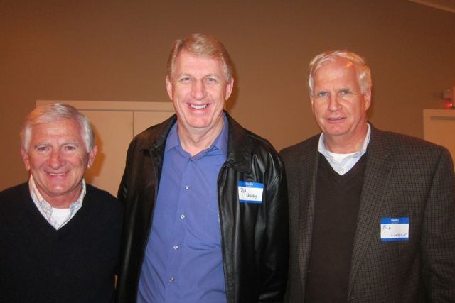 From the left:  Jack McCallus, Rod Chaney and Bob Luebke, Policy Analyst, Civitas