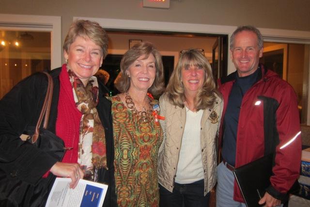 From the left: Ty Elliott, Meg Gresham, Karin Nemetz and Chris Elliott