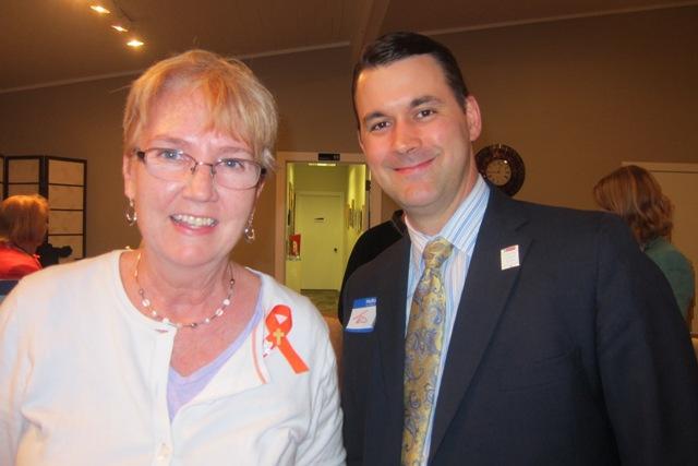Carol King and Ted Hicks