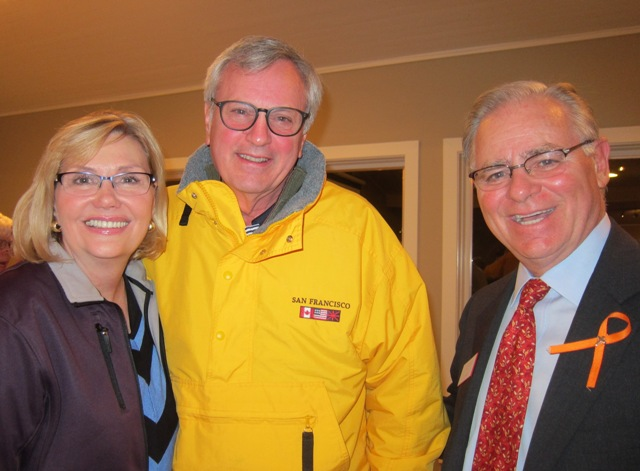 Linda and Matt Arnold and Jim Duncan, candidate for U.S. House of Representatives, District 2