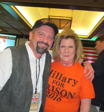 Janie Wagstaff and Desert Storm Veteran