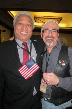 From the left:  Teji Kimball, candidate for the U.S. Congressional District 4,  North Carolina