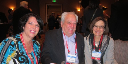 From the left:  Donna Willimas, past Chair, Wake County GOP, Ron Margiotta and Ann Marie Calabria, Judge, North Carolina Court of Appeals