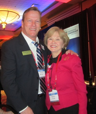 Frank Roche, candidate, U.S. House of Representatives and Nancy Clark, founder, Conservative Women's Forum