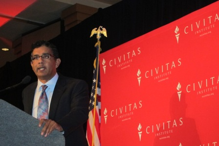 Dinesh D'Souza, Filmmaker, Author & commentator, soon to be released Hillary's America