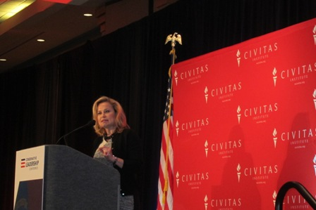 Heidi Cruz, wife of Senator Ted Cruz