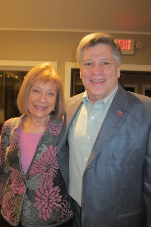 Marlene Waller and Larry Beckler
