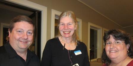 Keith Davis, Dr. Laura Gutman, ICON Board and Dee Davis
