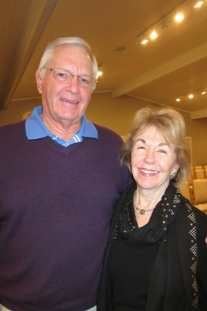 Gladys Kofalt and Skip Woody
