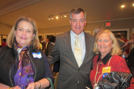 From the left:  Barbara D'Zan, Guy Guidry and Jane Hogan, ICON Advisory Board
