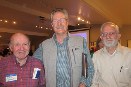 From the left:  Joel Freelander, Jeff Miller and Marty Martin