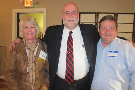 Ann Bowman, Chapter Leader, ACT for America, James Simpson, and Keith Davis, ACT for America Chapter Leader, Fayetteville, NC