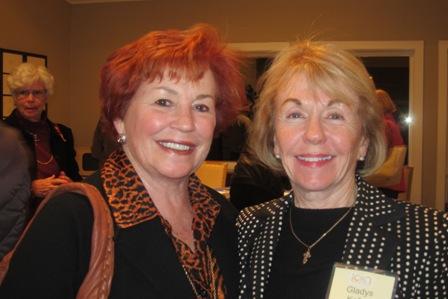 From the left:  Karen Kolias and Gladys Kofalt