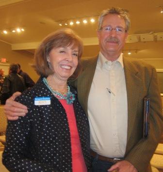 Meg Gresham, ICON board member and Jeff Miller