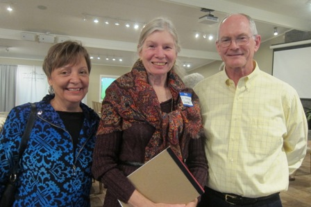 From the left:  Cathy Wright, Dr. Laura Gutman, ICON board, and Dr. John Wright