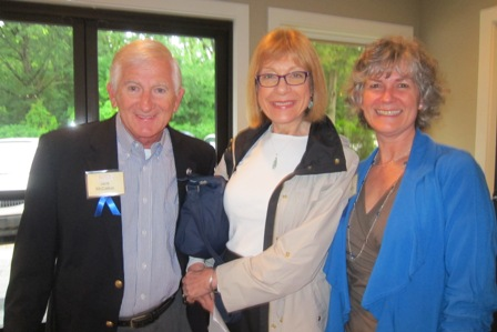 Jack McCallus, Marlene Waller and Kathy Arab