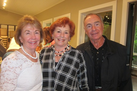 From the left:  Gladys Kofalt, and Karen and Gus Kolias