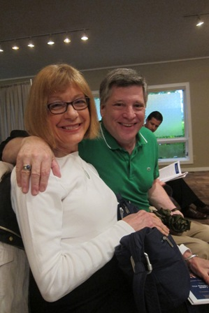 Marlene Waller and Larry Beckler