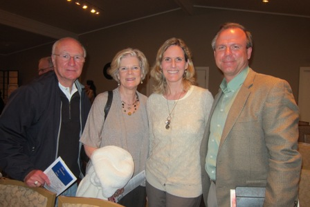 From the left:   Mary Lou and Bob Drake and Greta and Patrick Yankee