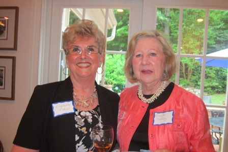 From the left:  Elizabeth Fisher and Brenda Dowling