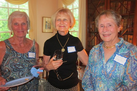 From the left:  Fran Handmaker, Rosemarie Wenzel and Kitty Felten
