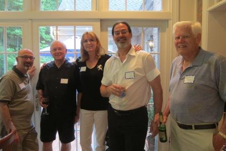 From the left:  Gadi Adelman, Dick Blake, Dee Sams, Steve Clipp and Patrick Williams