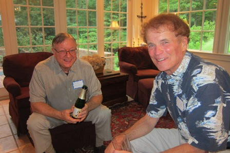 From the left:  Don Wenzel and Bob Shearer
