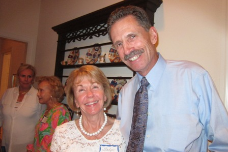 Gladys Kofalt and John Dodd of the Jesse Helms Center