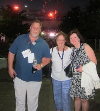 Martha Jenkins, Joyce Cotten and a friend