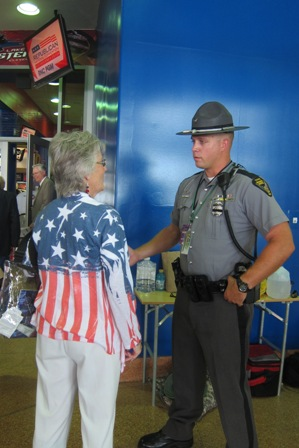 Our state troopers, police, Homeland Security  and secret service  were all very helpful while making sure all went very smoothly