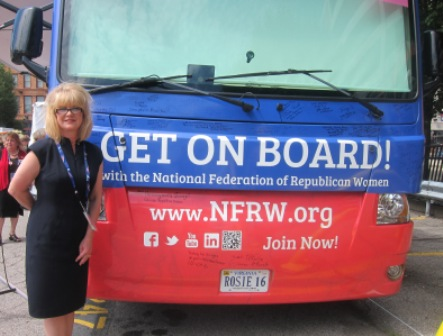 Carrie Almond, President, National Federation of Republican Women