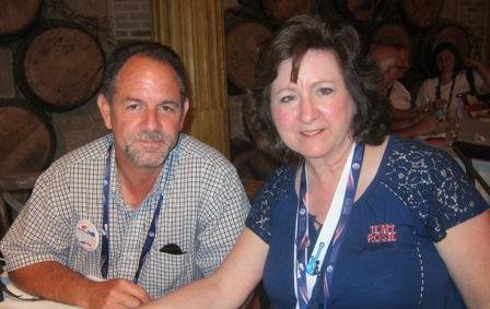 Martha Jenkins and Doug Isley