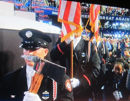 Parma. Ohio, Firemen Honor Guard, Presenting the Colors
