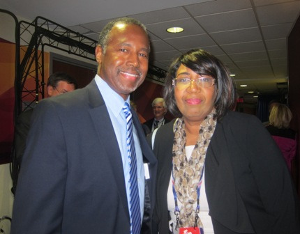 Ben Carson and his wife, Candy