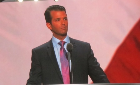Donald Trump, Jr. https://www.youtube.com/watch?v=5tI2CE2ivxY