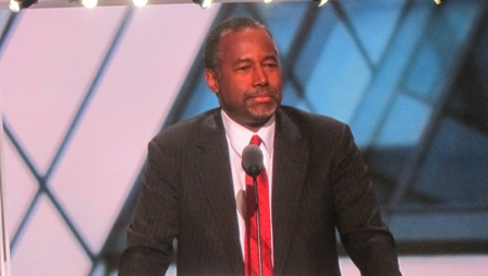 Ben Carson https://www.youtube.com/watch?v=rUBwCQZ8egI
