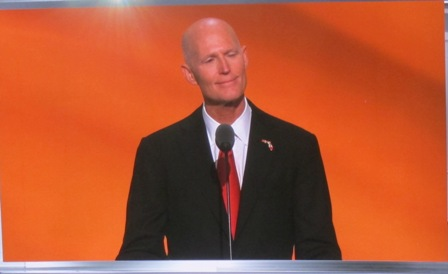 Florida Governor Rick Scott https://www.youtube.com/watch?v=uINk3fZ2cfY