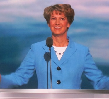 Colonel Eileen Collins, Ret, Former Commander, U.S. Space Shuttle https://www.youtube.com/watch?v=36lvD-EEpZg