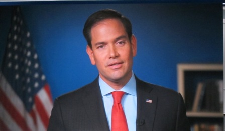 Senator Marco Rubio https://www.youtube.com/watch?v=vjwFw0WfB-I
