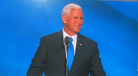 Governor Mike Pense of Indiana