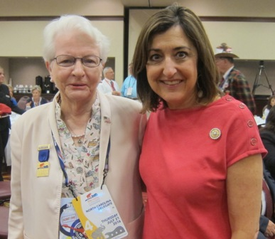 From the left:  Sandra Henson and Susan Tillis